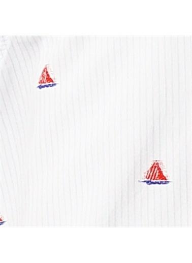 Panço Kısa Kollu Gömlek 19112080100 Beyaz